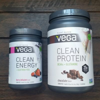 Power up with Vega's new Clean Protein and Clean Energy essentials