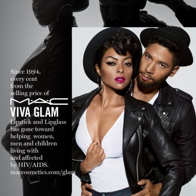 M∙A∙C Cosmetics welcomes Taraji P. Henson and Jussie Smollet to #VIVAGLAM