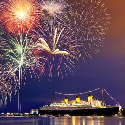Celebrate NYE in true Hollywood glam aboard the historical Queen Mary