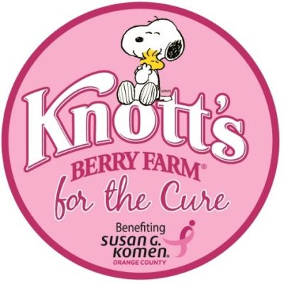 Join Knott's Berry Farm as the park turns pink for a cause