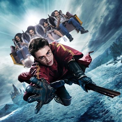 Enjoy an immersive experience at the Harry Potter and the Forbidden Journey thrill ride