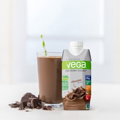 Vega Protein+ Shake: Real nutrition on the run