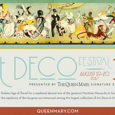 Celebrate vintage-chic at the Queen Mary's Art Deco Festival
