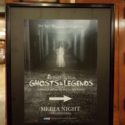 The Queen Mary's all-new Ghosts and Legends opens today