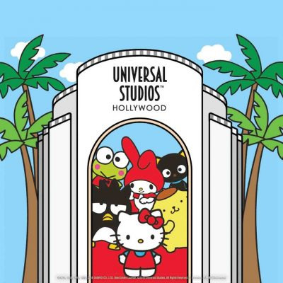 Hello Kitty arrives at Universal Studios Hollywood
