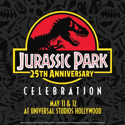 Larger-than-life: Jurassic Park 25th Anniversary Celebration