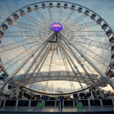 The Queen Mary Welcomes MASSIVE Observation Wheel