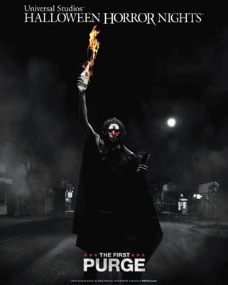"""Halloween Horror Nights unleashes """"The First Purge"""""""