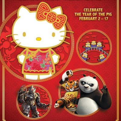 Celebrate the Year of the Pig at Universal Studios Hollywood