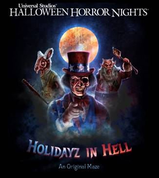 Experience Holidayz in Hell at Universal Studios HHN