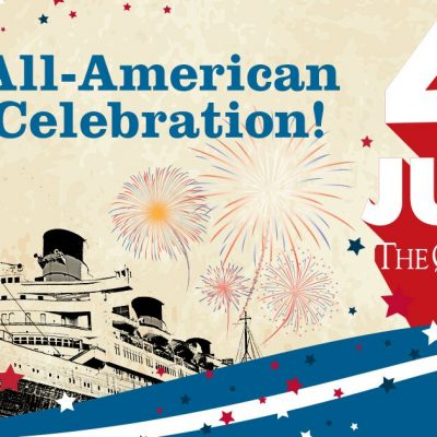 Celebrate the summer aboard the Queen Mary