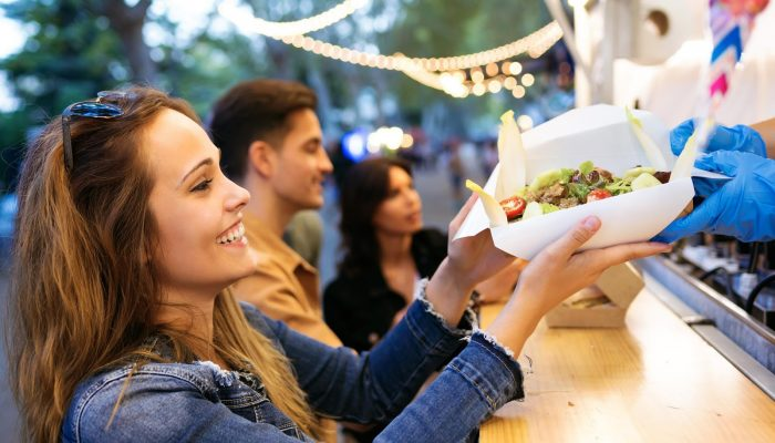 Dine, drink, and dance at the Queen Mary Night Market