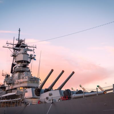 Battleship IOWA Museum Steel Beach BBQ