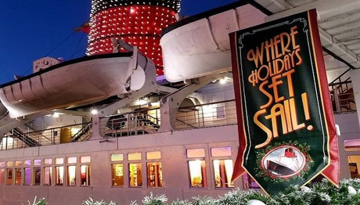 Set sail into the holidays at Queen Mary Christmas