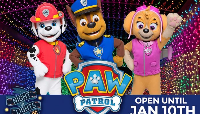 Night of Lights OC Celebrates the New Year with PAW Patrol