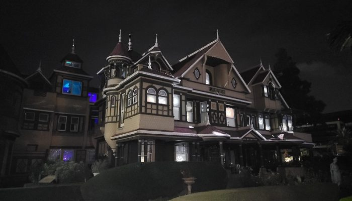 Explore the haunts and history of Winchester Mystery House